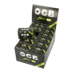Cigaretové papírky OCB Rolls+Filters-Cigaretové papírky OCB Rolls+Filters. Délka 4m, šířka 45mm + 40 filtrů. Prodej pouze po celém balení (displej) 24ks.