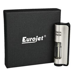 Tryskový zapalovač Eurojet Armin, stříbrný(250024)