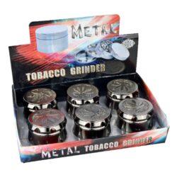 Drtič tabáku kovový Super Heroes Leaf, 6mix(340175)