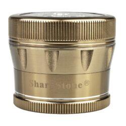 Drtič tabáku ALU Sharp Stone Gold, 53mm(340183)