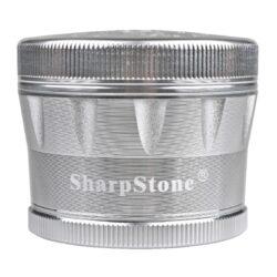 Drtič tabáku ALU Sharp Stone Chrome, 62mm(340184)