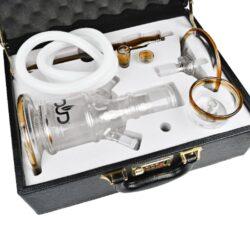 Vodní dýmka DUD Firestarter Orange set 43cm, perkolace(PS1005U)