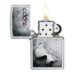 Zapalovač Zippo Peeled Metal, patinovaný(Z 158180)
