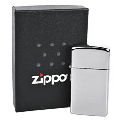 Zapalovač Zippo Slim chrome polish, leštěný(Z 160020)