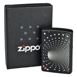 Zapalovač Zippo Black Hole, matný(Z 168620)