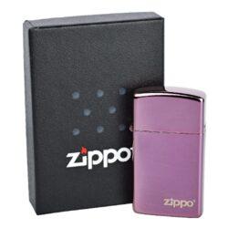 Zapalovač Zippo Slim Abyss Logo, leštěný(Z 168710)