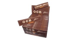 Cigaretové papírky OCB Slim Virgin